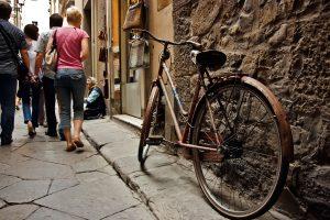 Santo Spirito Florence à Vélo